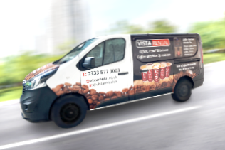coffee machine rental van